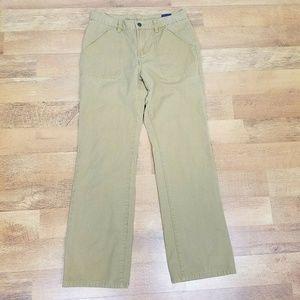 Tommy Jeans Size 9 Khaki Pants 29x30 29 in waist